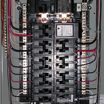 House Electrical Panel Installation